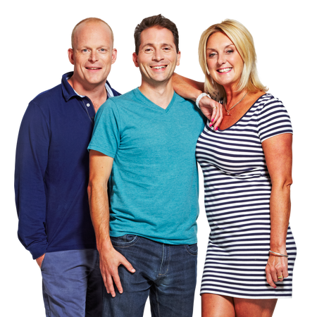 Ed, Troy & Paulina