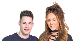 Martin Lowes and Charlotte Crosby